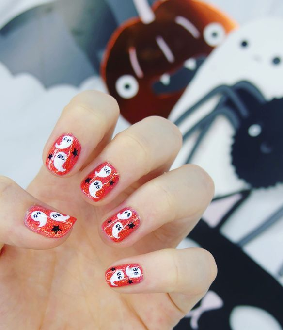 Halloween Nail Art Fantomatique 2018